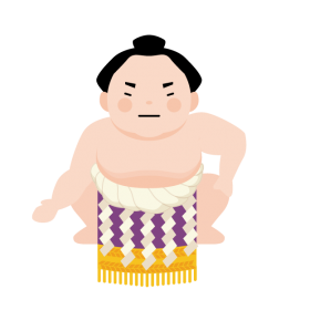 お相撲さんの絵